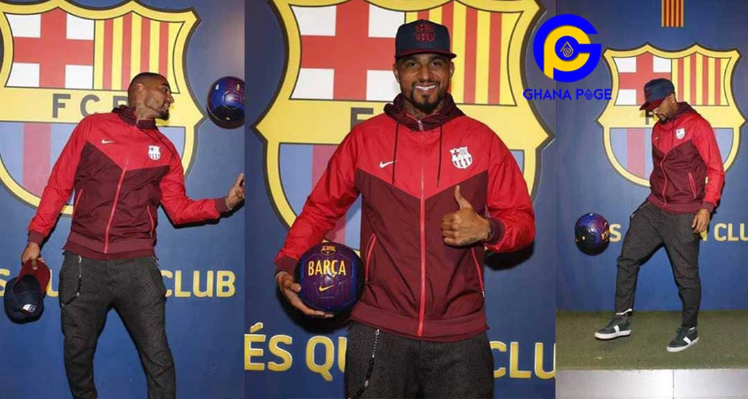 Kevin-Prince Boateng's house robbed while on the field for Barcelona
