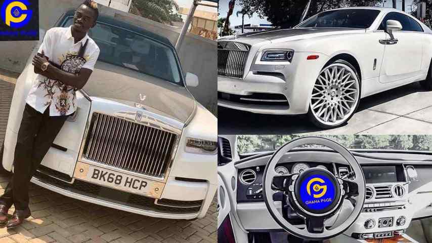 Nkansah Lilwin buys new Rolls Royce  to add to his fleet of cars..?