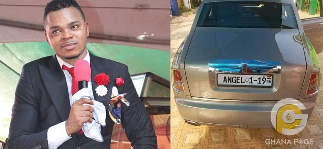 Angel Obinim spoils himself by buying a brand new Rolls Royce