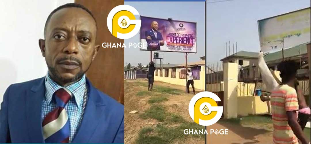 Angry 'Zongo' Youth storm Owusu Bempah's church with cutlass over 'Chief Imam prophesy'