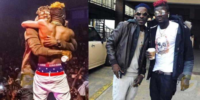 Pope Skinny Shatta 696x348 - Pope Skinny accuses Shatta Wale of using juju