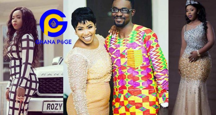 Rose Tetteh, the wife of NAM1 declared wanted by the police for fraud