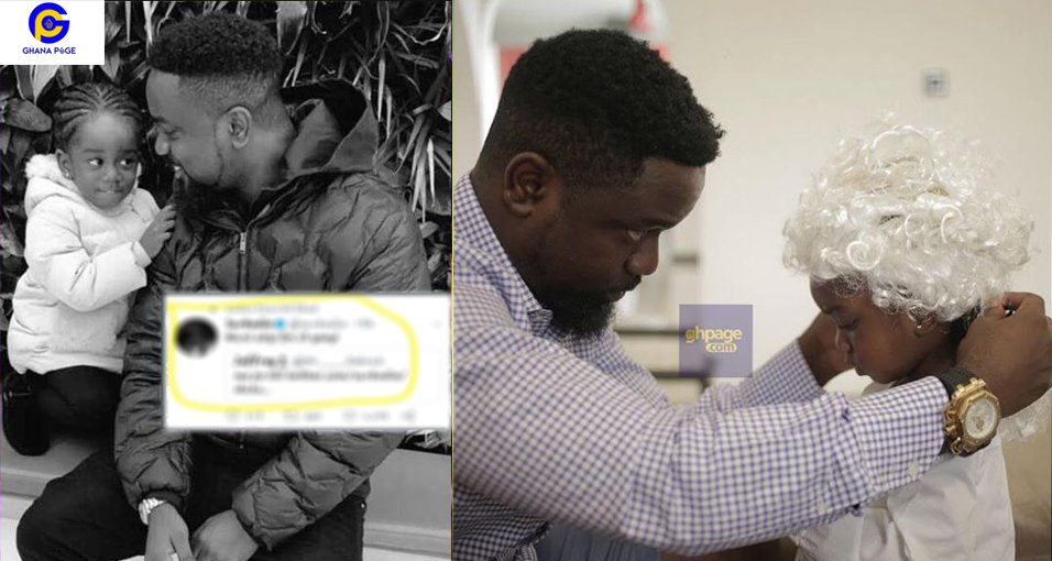 Sarkodie rains insult on fan for saying he likes his daughter Titi