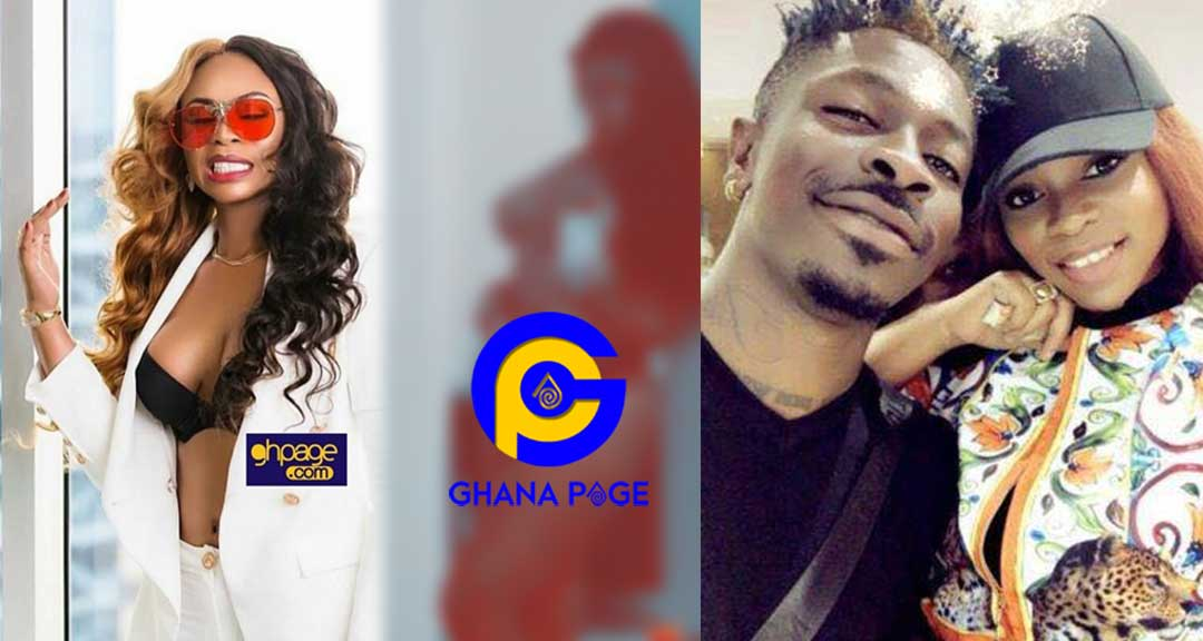 Shatta Wale's baby mama, Michy leaks her own her nak£d photo after breaking up with Shatta [SEE]