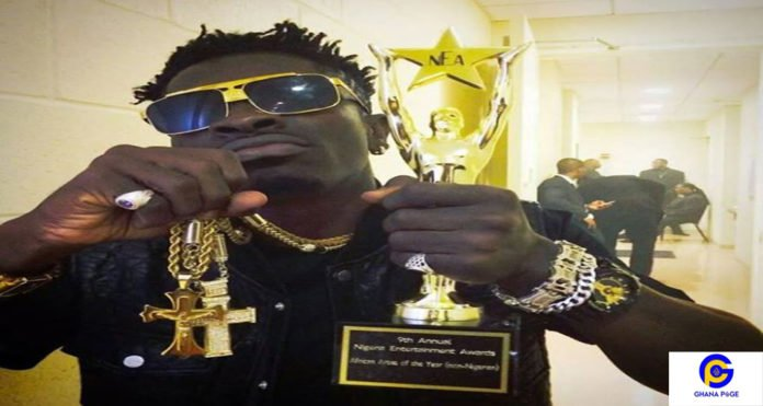Self-acclaimed dancehall king Shatta Wale has listed the total number of awards he has won ever since he reappeared in the music industry 6 years ago.
