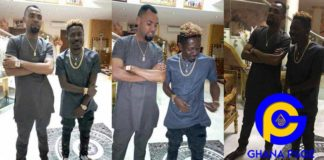 Photos from Shatta Wale's visit to Rev. Obofuor