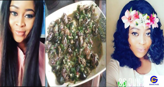 Slay queen dumped by boyfriend after she cooked okro soup for his family