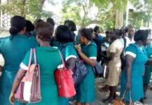 Tamale nurses embark on strike over 'tiny', 'disrespectful' 5kg Christmas rice