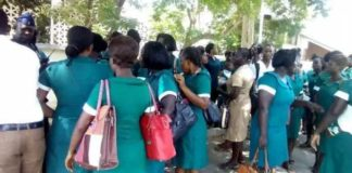 Tamale nurses embark on strike over 'tiny', 'disrespectful' 5kg Christmas rice