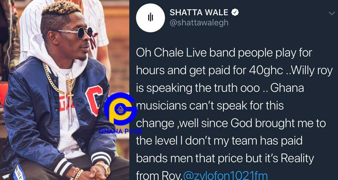 """Call Michy for her to type for you""-Twitter users troll Shatta Wale for tweeting foolish English"