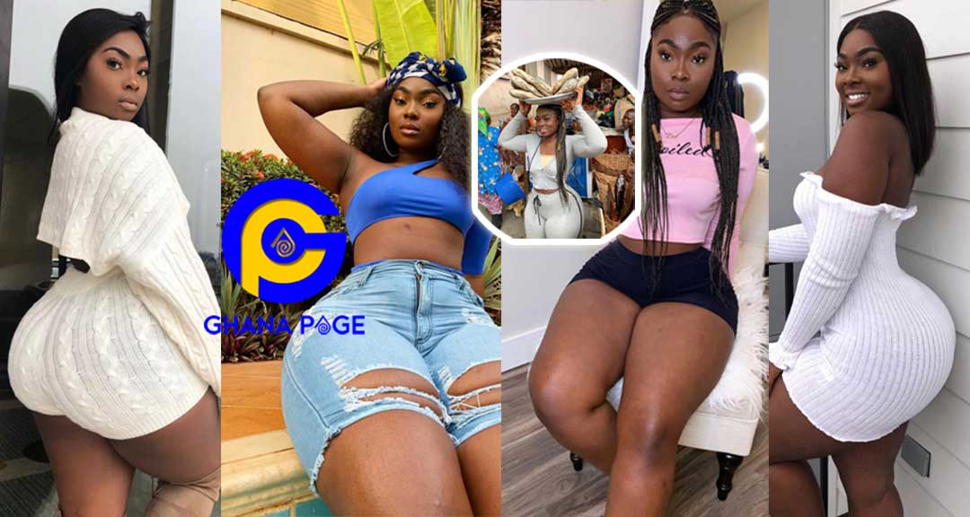 18+Photos:More sizzling photos of Ghanaian Slay Queen who was spotted selling dry fish (Koobi)