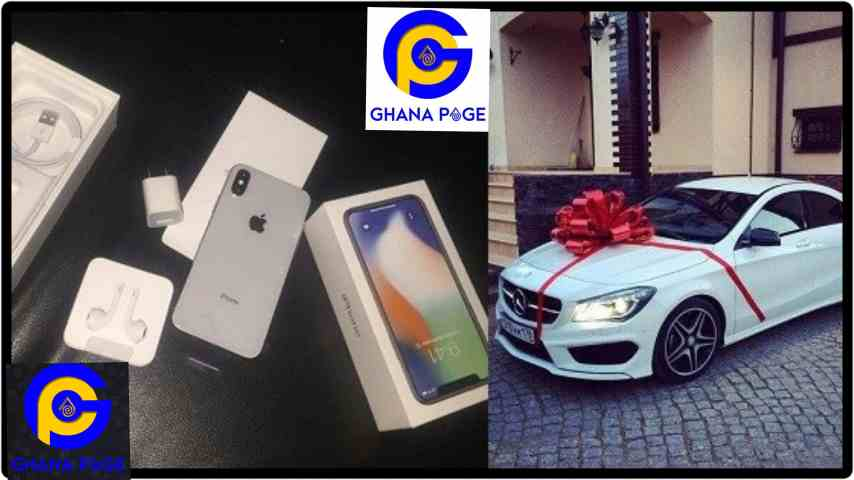 Lady angry after her boyfriend bought her an iPhone X, but bought his mom a car