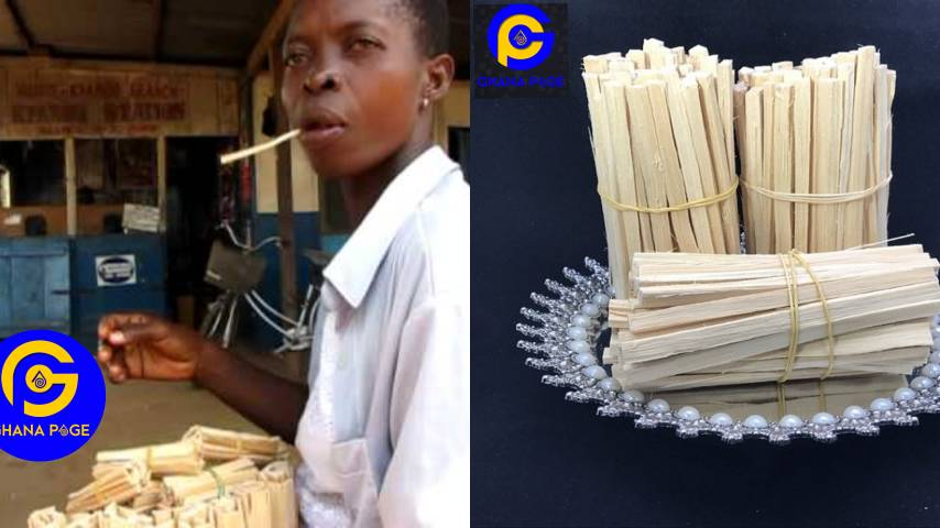 """Chewing Stick repackaged and sold abroad as """"organic toothbrush"""" For $18"""