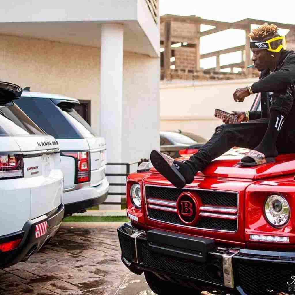 shattawalenima 20190112 0002 - Shatta Wale shows off a brand new Lamborghini