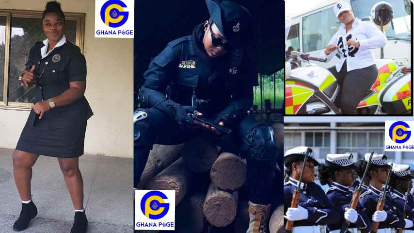 Checkout photos of these hot police woman causing a stir online