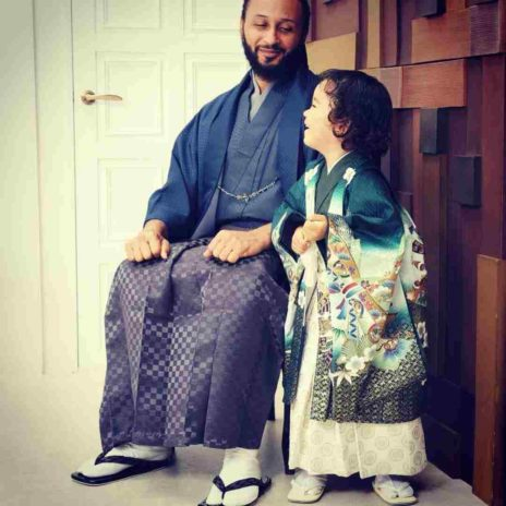 photos of Wanlov beautiful Japanese baby mama and daughter