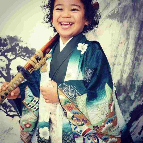 photos of Wanlov beautiful Japanese baby mama and daughter 2