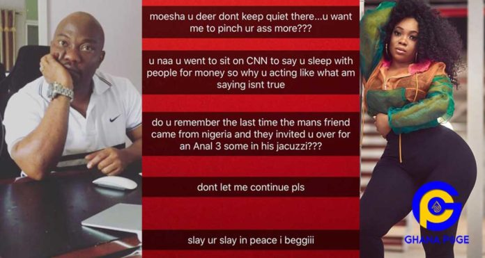 More trouble for Moesha Boduong as her Anal threesome with alleged HIV+ Man leaks [SEE]