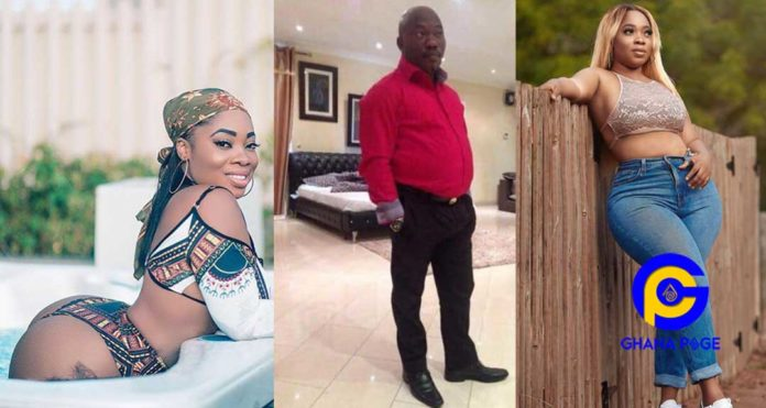Chat of Moesha Boduong begging Mr. Abani's pimp to add her to orgy list