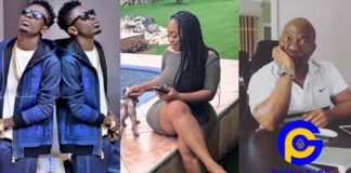 Photos: Shatta Wale defends fmr boss accused of infecting Moesha Boduong & others with HIV