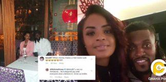 Dillish Matthews blasts social media user for calling Adebayor ugly