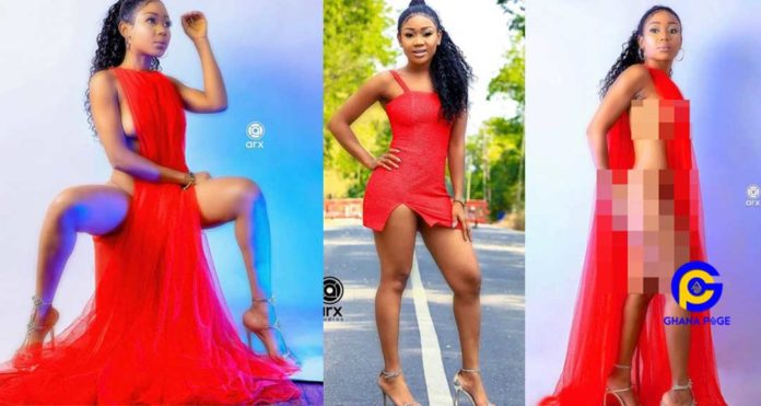 Akuapem Poloo paints Instagram Red - Goes naked to celebrate the Valentines Day [Photos]