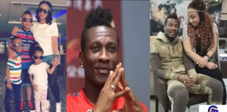 'Disgraceful father of the year' - social media users troll Asamoah Gyan