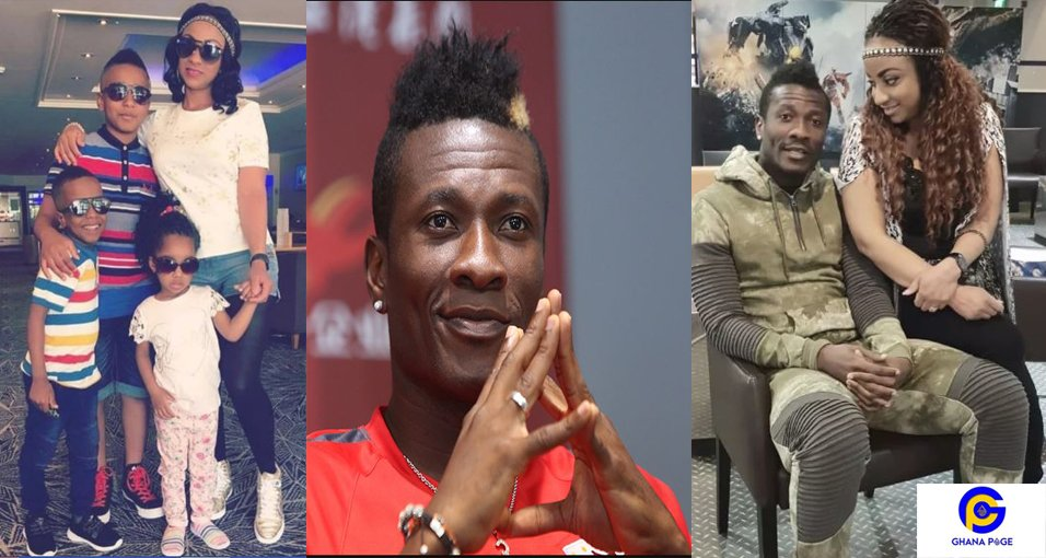 'Disgraceful father of the year' – social media users troll Asamoah Gyan
