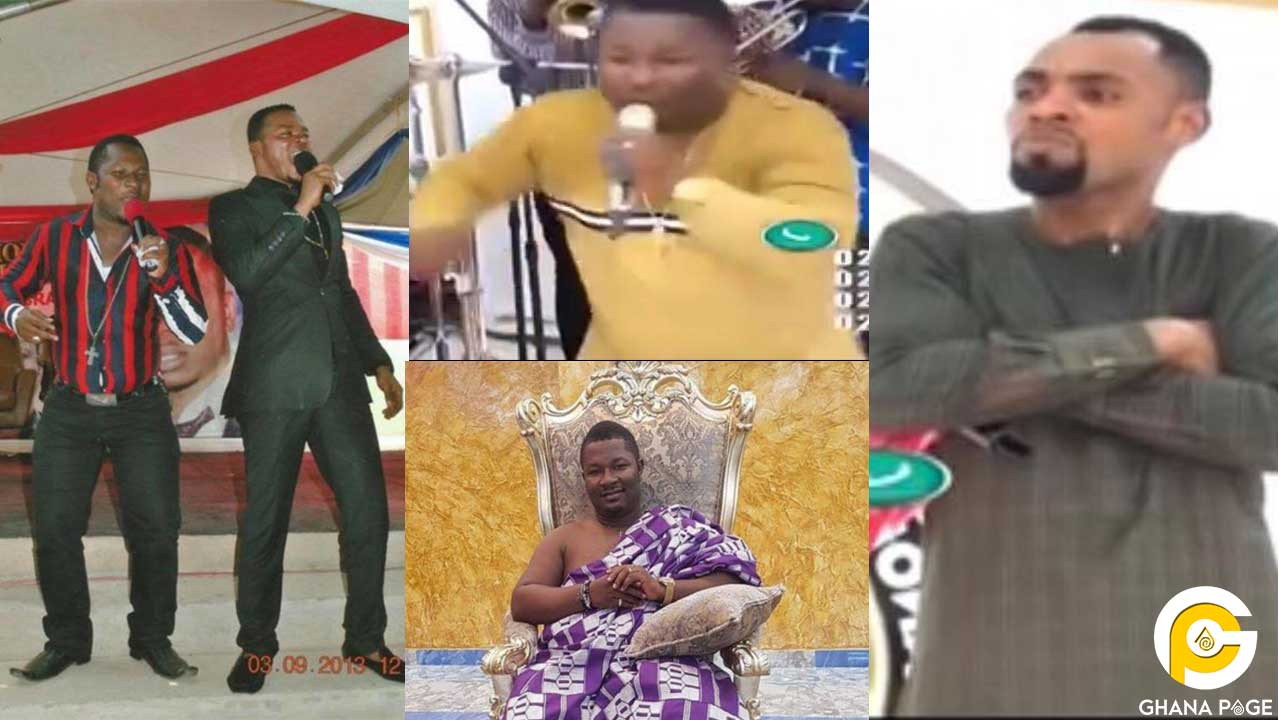 Last video of Obinim's Son performing with Rev. Obofuor before his death