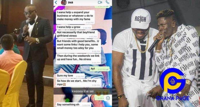 DKB chopped a young school girl who begged him on twitter for GH¢1,300 to pay her fees for free