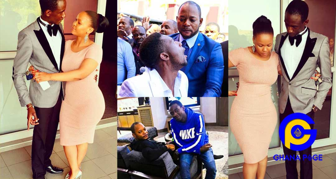 Photos of the man who was resurrected by Alph Lukau chilling with fiancé