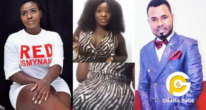 Video: Ghanaians mock Ernest Opoku's 20yrs girlfriend,Mary for looking like a 37yrs old lady