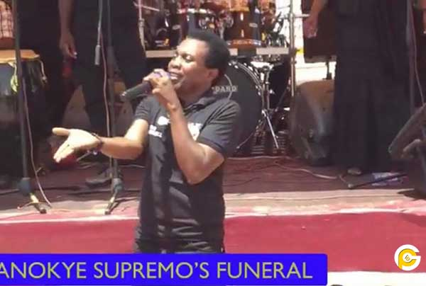 Kaakyire Kwame Appiah anokye S - Kaakyire Kwame Appiah and few celebrities mourned Anokye Supremo
