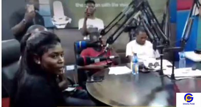 Maame Yaa Jackson faces disgrace on live radio over meaning of 'CRS'