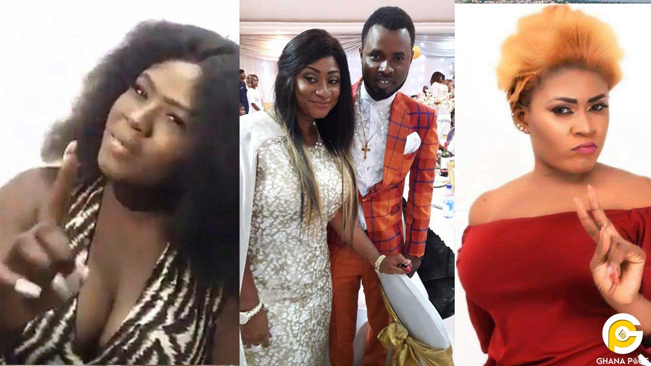 Ernest Opoku's girlfriend, Mary Waddle exchange 'blows' with Nayas