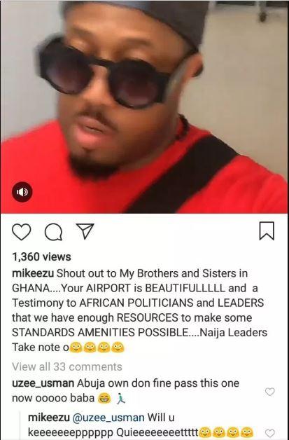 'Naija leaders take note' – Mike Ezu praises Mahama's Terminal 3 Airport