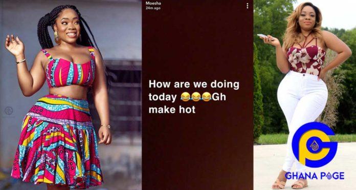 Ghana make hot-Moesha Boduong mocks other celebrities named in Ibana HIV scandal [SEE]