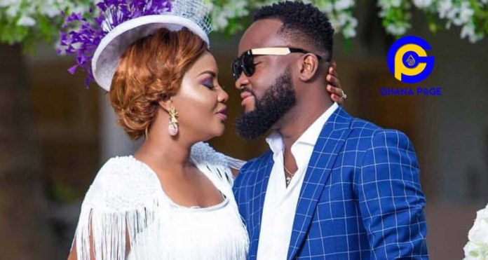 Heavily pregnant Nana Ama Mcbrown celebrates husband on valentine's day with a sweet message