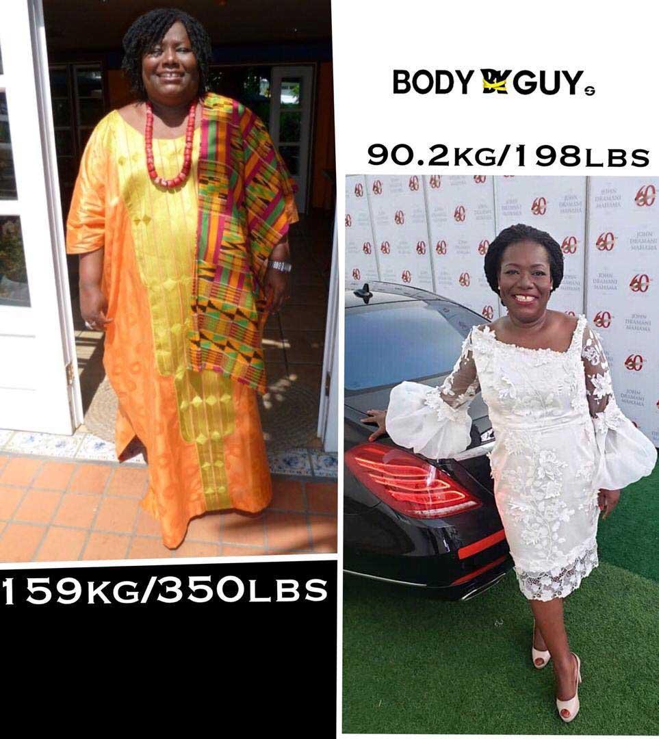 Nana Oye Lithur Weight Loss