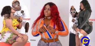 Photos of Patapaa in a passionate kiss with his new bootylicious girlfriend goes viral [SEE]