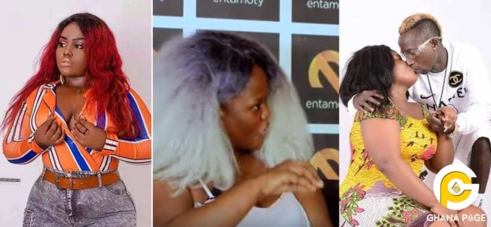 Queen Peezy 696x322 - Queen Peezy heartbroken after video of Patapaa kissing white lady popped up
