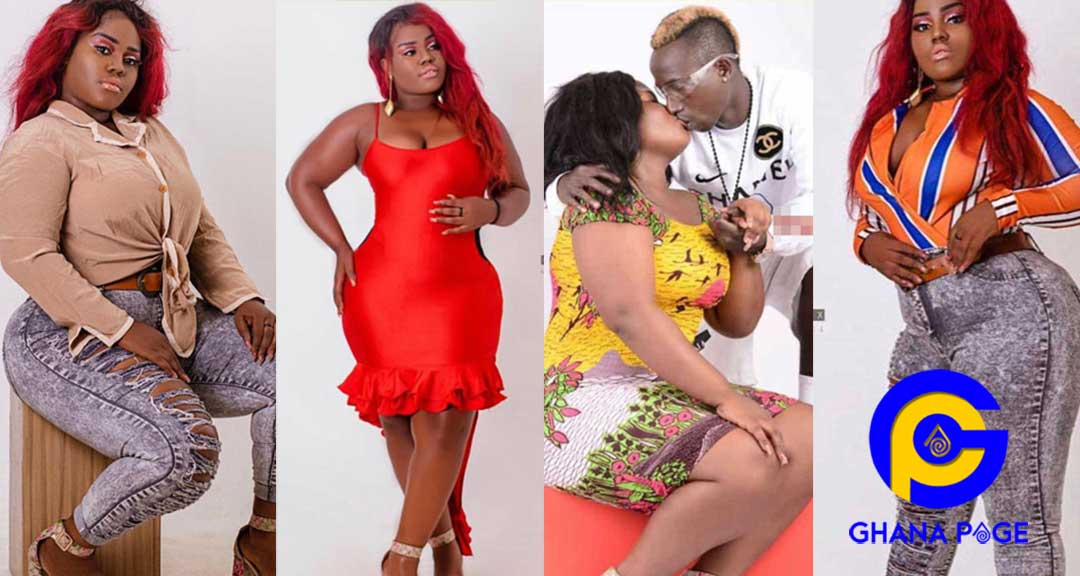 Queen Peezy Patapaa Girlfriend 0 - Queen Peezy heartbroken after video of Patapaa kissing white lady popped up