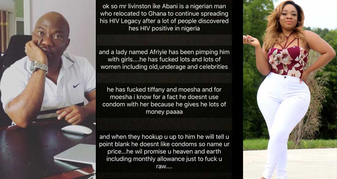 Shatta Wale's fmr boss allegedly infect Moesha Boduong &others with HIV