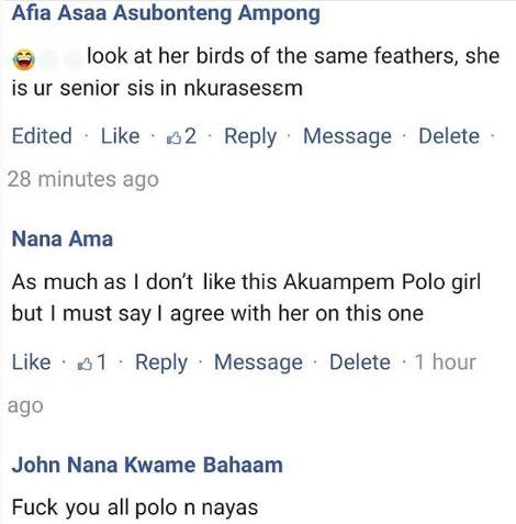 'You are worse than Nayas' - Social Media tears Akuapem Poloo apart