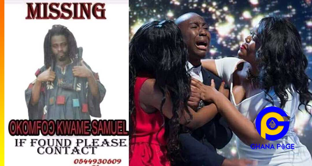 Hilarious poster of a missing Fetish Priest (Okomfo) goes viral on social media [SEE]