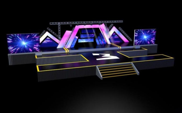 3 Music Awards Set Design 1 696x435 - This is how 3 Music awards stage would look like on Saturday