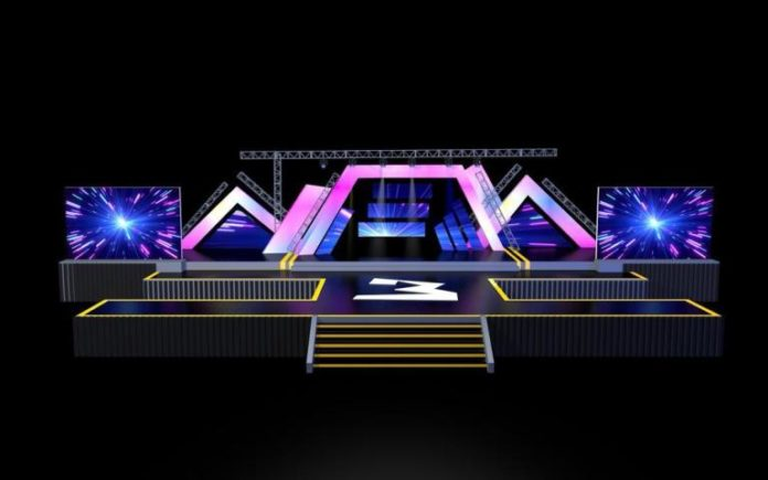 3 Music Awards Set Design 2 696x435 - This is how 3 Music awards stage would look like on Saturday
