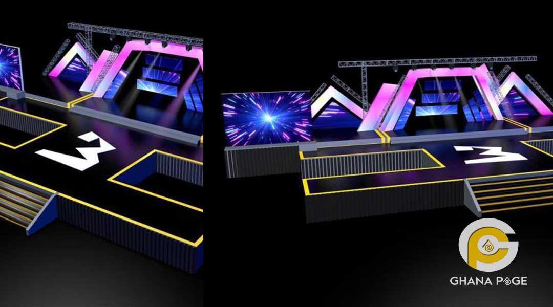 3 Music Awards - This is how 3 Music awards stage would look like on Saturday