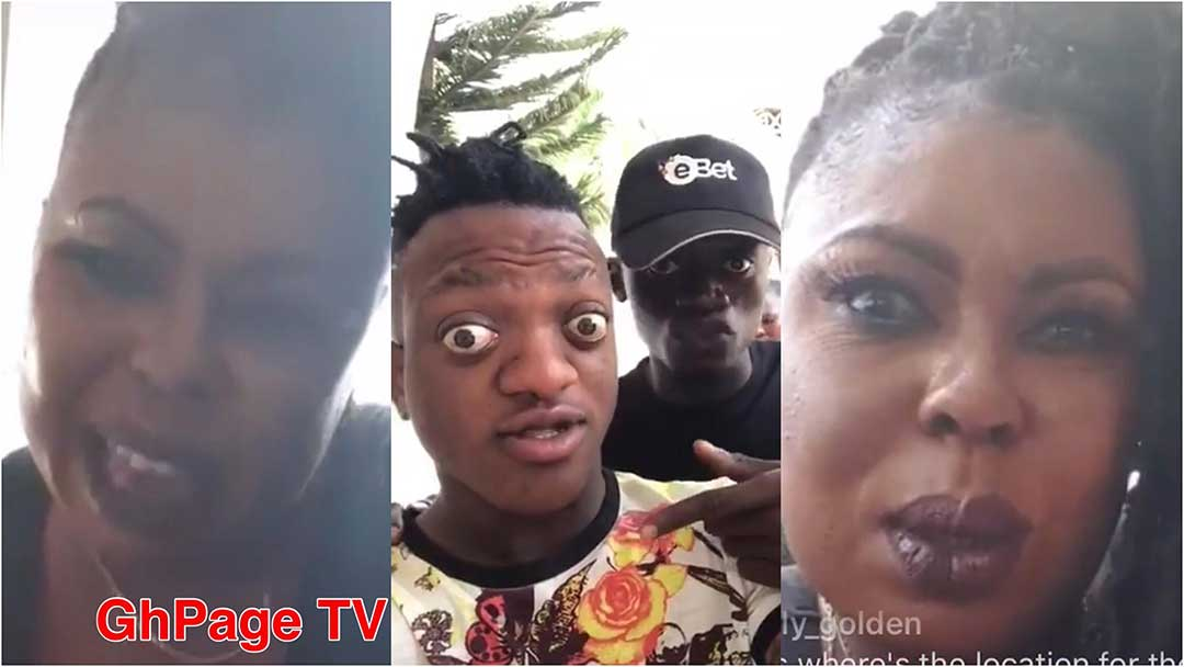 Afia Schwarzenegger Sumsum Ahuofe - Sumsum is a villager,poor and a disable – Afia Schwarzenegger