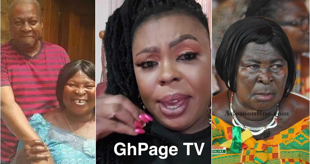 Ghanaians need to keep Akua Donkor in cage like a monkey – Afia Schwarzenegger
